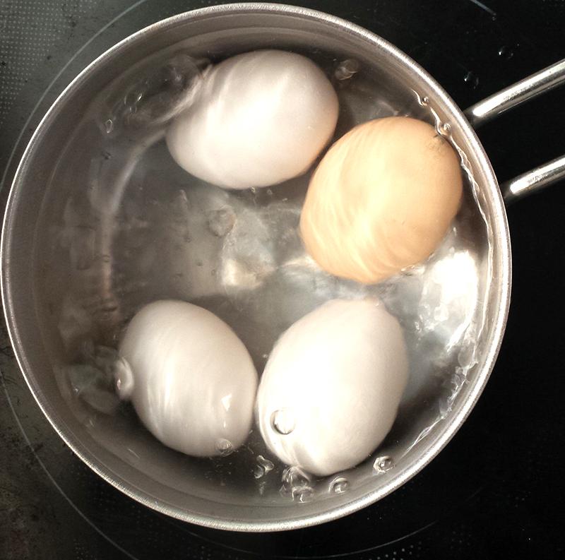 失敗しないゆで卵の作り方